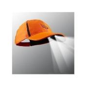 4 LED Blaze Orange Panther Vision Hat