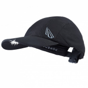 Powercap EXP-4119 Panther Vision 6 LED Unstructured Microfiber Lighted Hat, Black