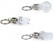 Kikkerland KRL09-A Light Bulb LED Keychain