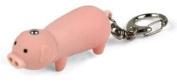 Pink PIG KEYCHAIN Key Ring Safety LED Light Finder Flashlight With OINKING sound