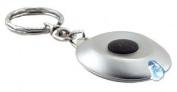 GreatLite 32053 Saucer LED Keychain Light, Silver