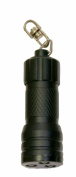True Utility TU83BLK Compact MicroLite 3 LED Key Ring Flashlight Black