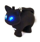 Cute Cat - light up keychain with sound FX