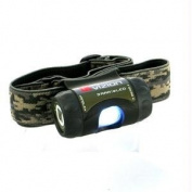 Underwater Kinetics 17005 Vizion 3AAA eLED Headlamp, OD Green, Camo Strap