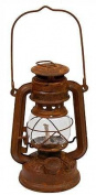 Primitive Antique Style Rusty Reproduction Railroad Lantern