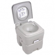 Deluxe 18.9l Portable Camping Hiking Walking Outdoor Travelling Outdoor Toilet Potty