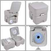 Brand New Portable 18.9l Outdoor Flush Toilet-Potty