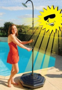 Outdoor Solar Shower with Base