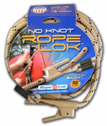 Grabber Outdoors Ropelok No-knot Tie Down System- 2.4m Twin Pack, 2-Count