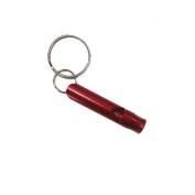 Small Red Emergency Whistle / Survival Whistle Keychain