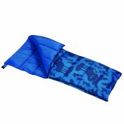 Wenzel Moose Boys 40-Degree Sleeping Bag, Blue