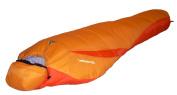 High Peak USA Alpinizmo Latitude 20 Sleeping Bag, Orange