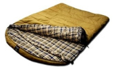 Grizzly 2 Person 0 Degree Canvas Sleeping Bag