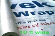 3m x 3m Tyvek Sheet with 8 Grommet Tabs From Campcovers