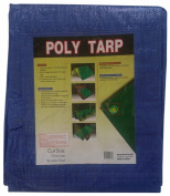 Kotap TRA-1824 All Purpose 5.5m x 7.3m Blue Poly Tarp