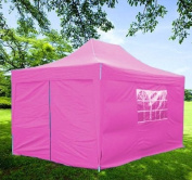 Frugah New Pink 10'x15' Pop up Wedding Party Tent Canopy Gazebo with Carry Case