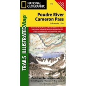 Trails Illustrated Map Poudre River / Cameron Pass