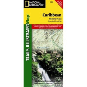 Trails Illustrated Map Caribbean National Forest