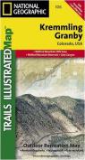 National Geographic TI00000106 Map Of Kremmling-Granby - Colorado