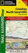 Trails Illustrated Map Cowdrey / North Sand Hills