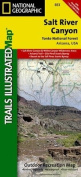 Trails Illustrated Map Salt River Canyon, Tonto National Forest