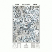 National Geographic Mount Everest/himalaya Revised National Geographic Maps