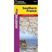 Southern France Adventure Map