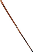 SE 127cm . Wooden Walking Stick W/ Removeable Rubber Tip Cover