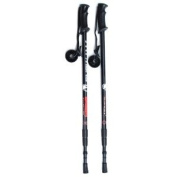 1 Pair Telescopic 3-section Hiking, Trek, Ski Anti-shock Poles by Snowjam 2012 Model