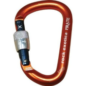 Pirate Screw-Lock Carabiner - Screw-Gate by Rock Exotica