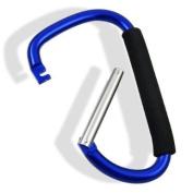 Jumbo 20.3cm Aluminium Carabiner Snap Hook with Soft Grip
