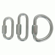 Cypher Quick Link 8mm Long Steel 25kn Carabiners