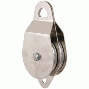 Cmi 10.2cm Dual Pulley Stainless Steel Bushing