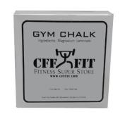 CFF Gym Chalk Block (2 oz) - Great for CrossFitTM, MMA, Boxing, Fitness Training, Strongman