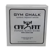CFF Gym Chalk Box (0.5kg) - Great for CrossFitTM, MMA, Boxing, Fitness Training, Strongman
