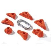 Nicros HED Crimps Erosion Handholds - Orange
