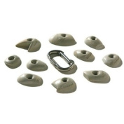 Nicros HCIA Micros Diff-Tex Footchips 1 Tick Handholds - Grey