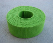 Cotton Webbing 3.2cm - Lime Heavy Weight - 10 Yards
