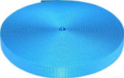 1.9cm 20 Yards Ice Blue Heavy Plus Nylon Webbing Closeout