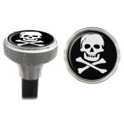 Skye Supply Capperz Valve Caps - Skull & Cross Bones