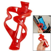 Como Bicycles Red Plastic Bottle Holder Sport Drink Cup Cage