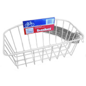 Wald 145 Childrens 50.8cm Bike Basket Gloss White