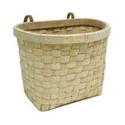 Sunlite Wooden Bicycle Basket, 33cm x 21.6cm x 25.4cm