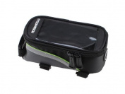 Bicycle Bike Cycling Roswheel Frame Pannier Bag Front Tube Bag Phone Cell 100g Green