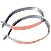 ULTRACYCLE TROUSER BAND,STEEL,PAIR W/ 3M BRAND REFLECTIVE TAPE