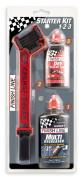 Finish Line Starter Kit 1-2-3, Includes Grunge Brush, 120ml DRY Lube and 120ml EcoTech Degreaser