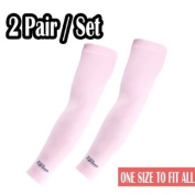 2 Pairs of NEW Protective Arm Sleeve UV sunblock Protective your skin