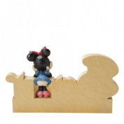 Enesco Disney Traditions by Jim Shore Minnie Mouse Sweet Figurine, 10cm