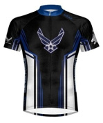 Primal Wear Air Force USAF Team Cycling Jersey Men's Short Sleeve 4XL