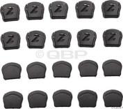 Lazer Thick Strap Dividers, Black, Bag of 20